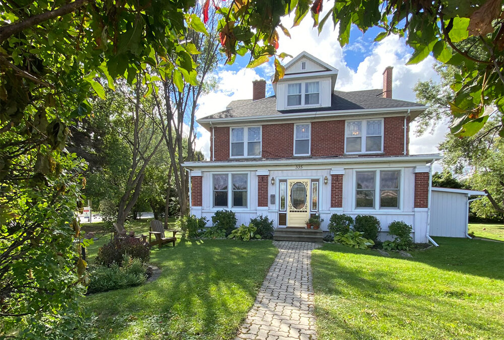 Blessed home steeped in local history goes up for sale